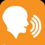 頭頸部がんなどの手術により声帯を切除するなどで永久失声、または入院時に一時失声の状態ななった人たちの会話支援を目的としたiPhone/iPadアプリ